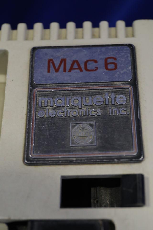 MARQUETTE Mac -6 EKG