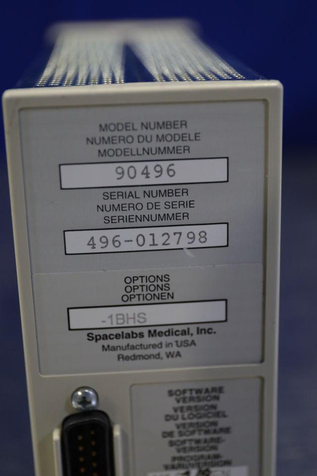 SPACELABS 90496  - Lot of 4 Module
