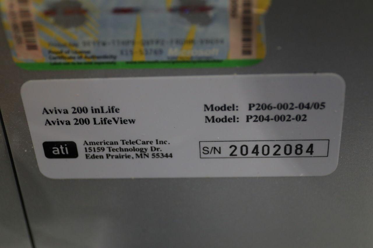 AMERICAN TELECARE Aviva 200 inLife Monitor