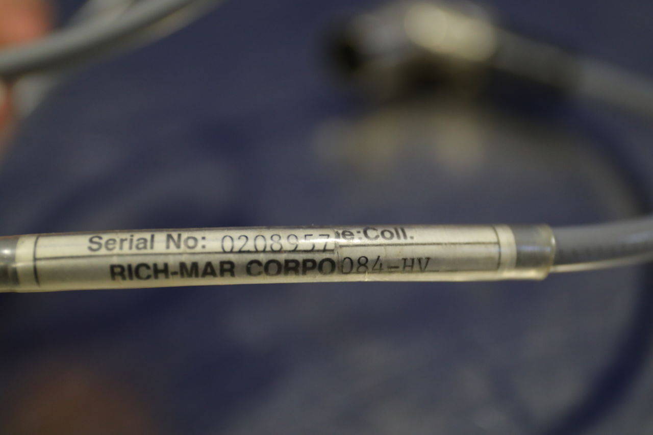 RICH-MAR CORPORATION C-1 Probe Ultrasound Therapy Unit
