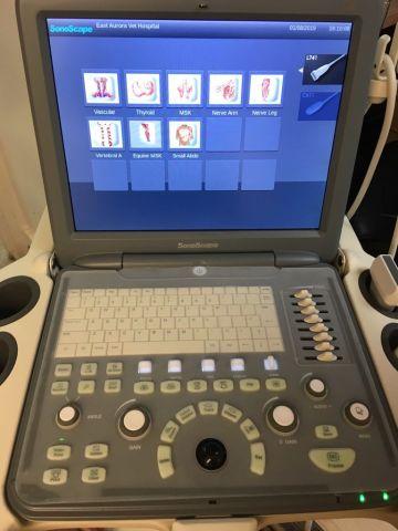 SONOSCAPE S2 Vet. Ultrasound