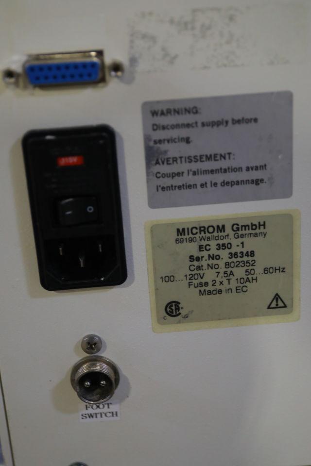 MICROM EC 350-1 Embedding Center