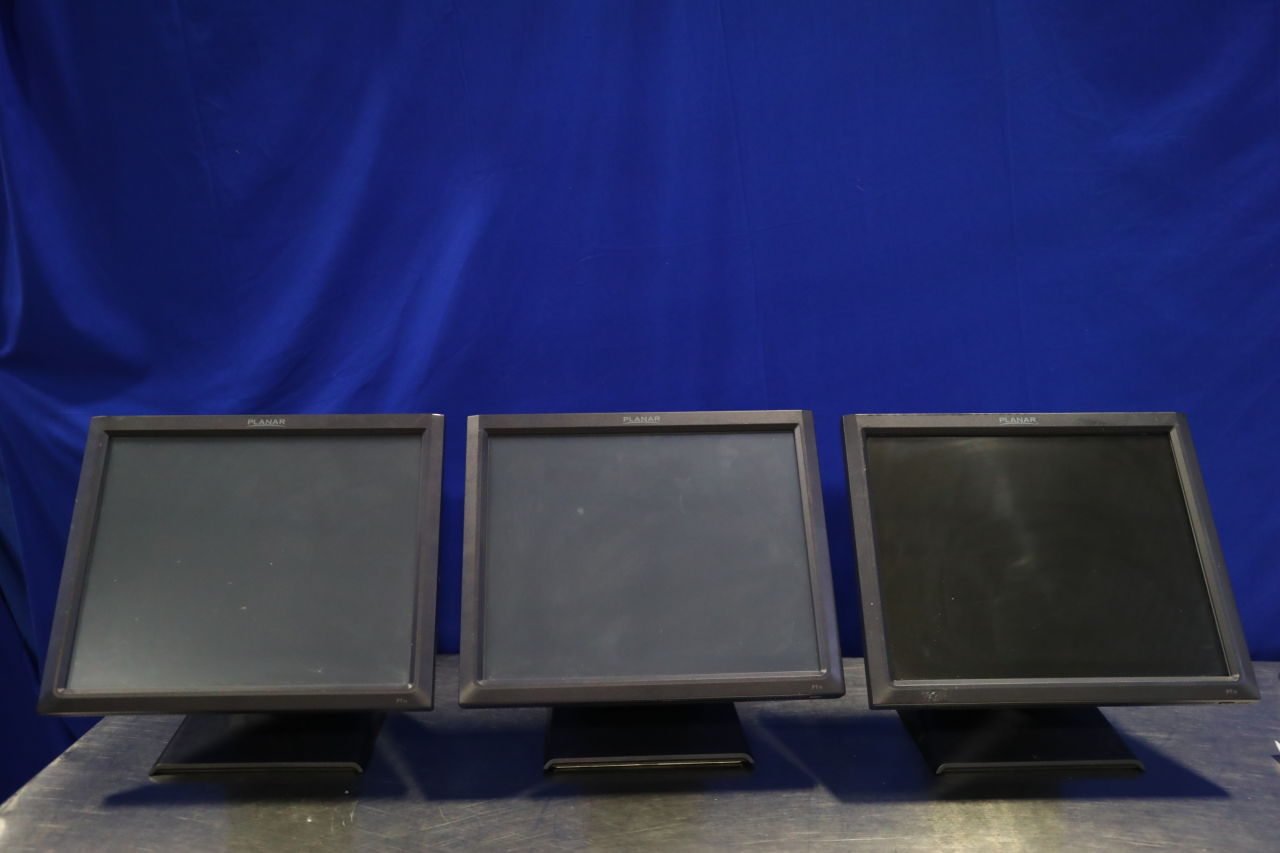 PLANAR SYSTEMS 997-5971-00  - Lot of 3 Display Monitor