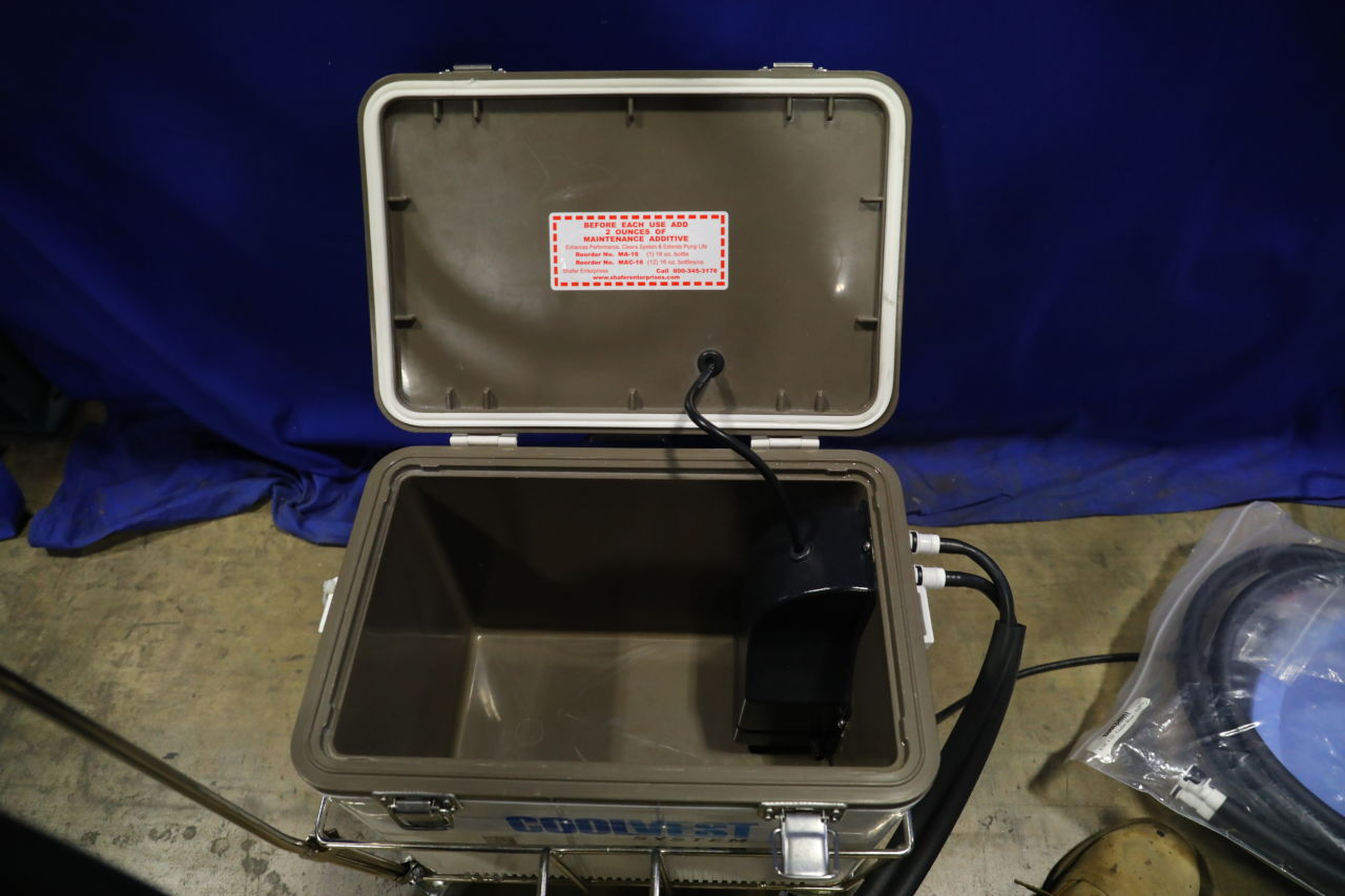 COOLVEST SYSTEMS Coldshirt E112387 Chiller