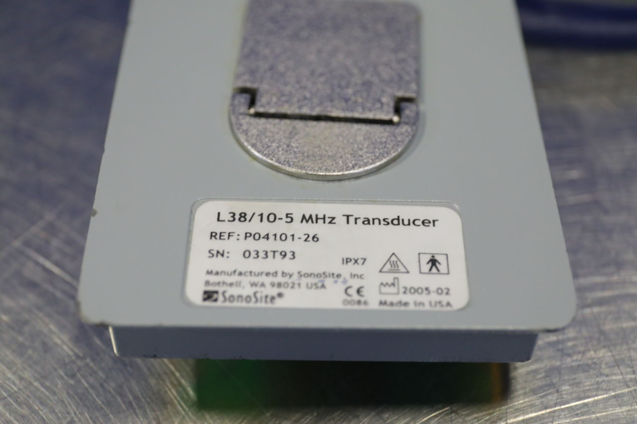 SONOSITE L38 Ultrasound Transducer