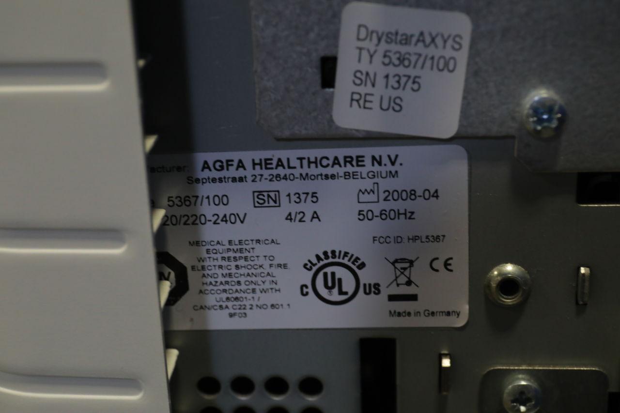 AGFA Drystar Axys Dry Camera