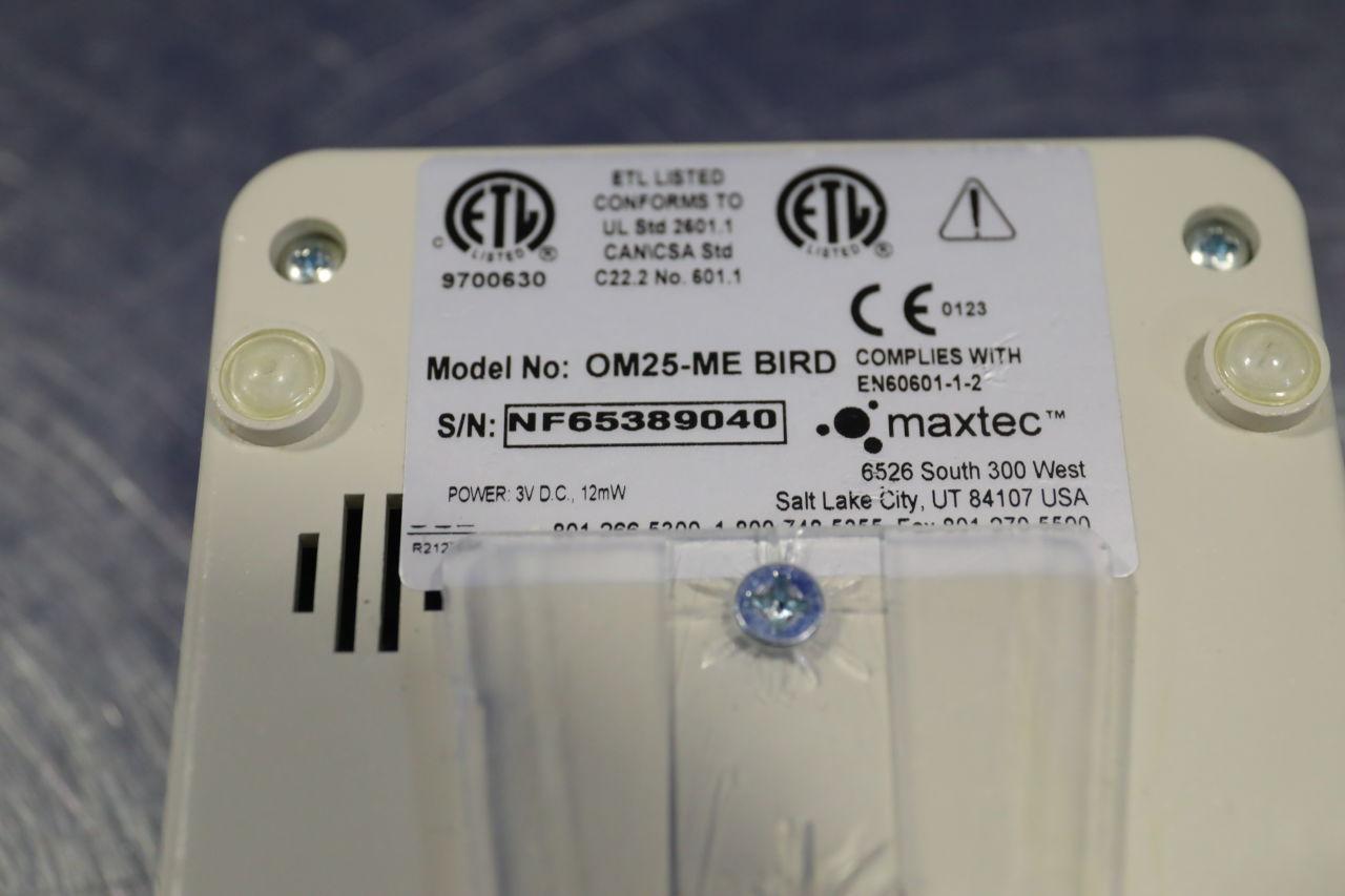 MAXTEC OM24-ME Bird  - Lot of 3 Oxygen Analyzer