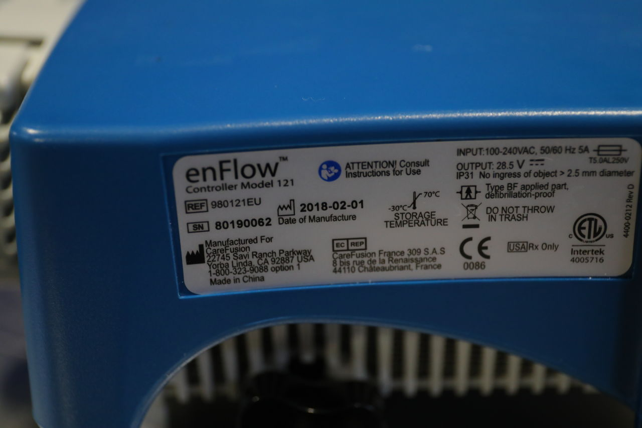 CAREFUSION enFlow Blood Warmer