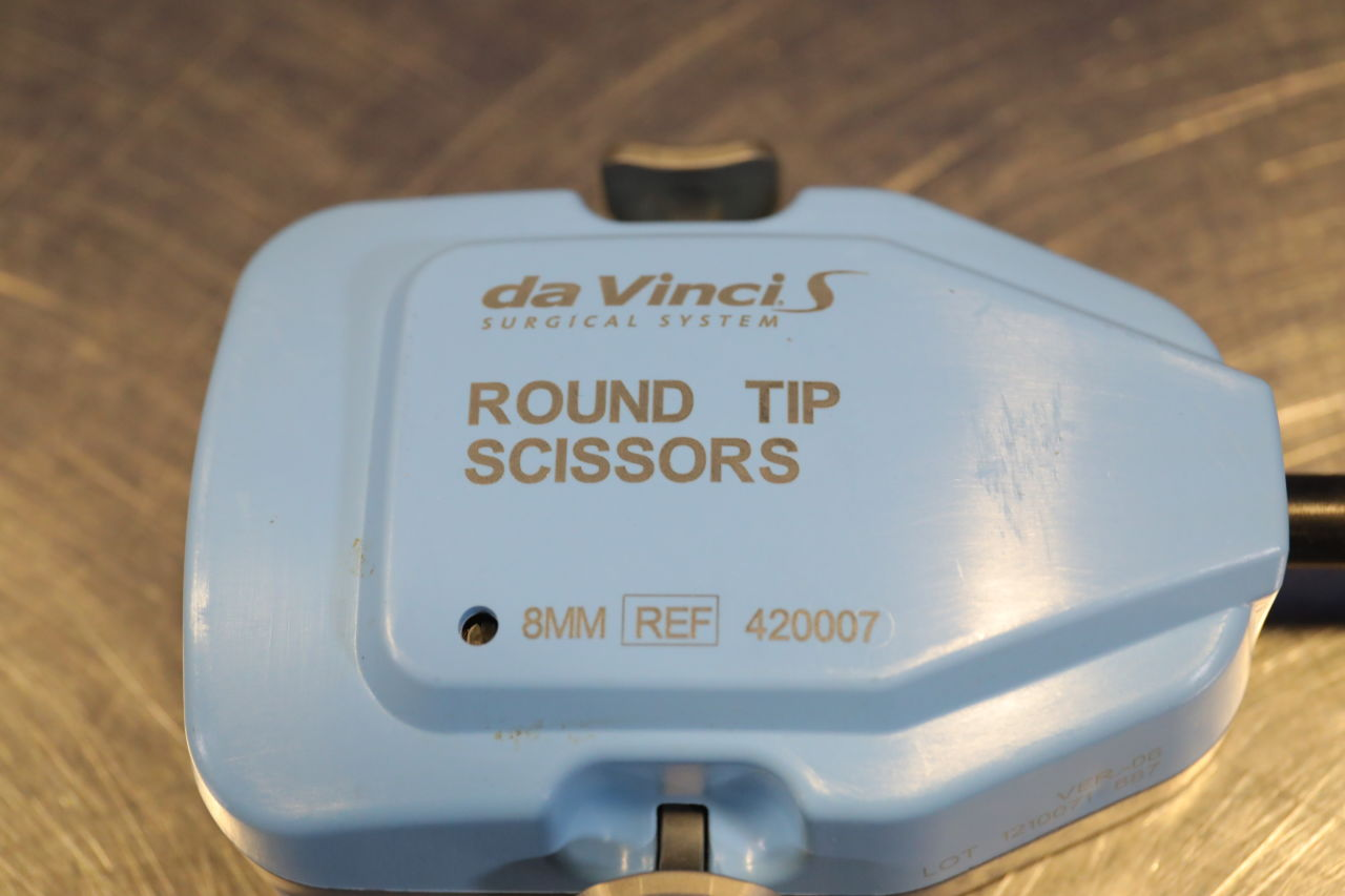 DA VINCI 420007 Round Tip Scissors - Lot of 2