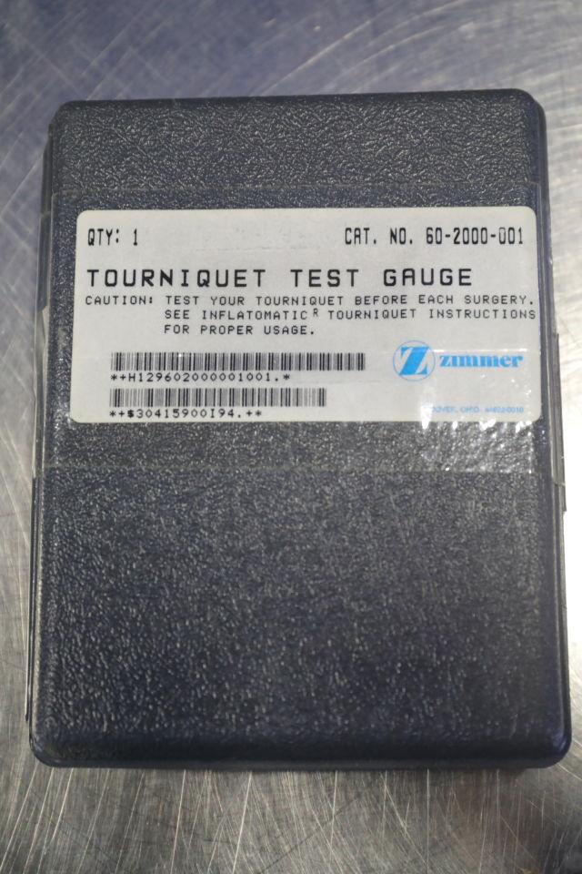 ZIMMER 60-2000-001 Test Gauge Tourniquet System
