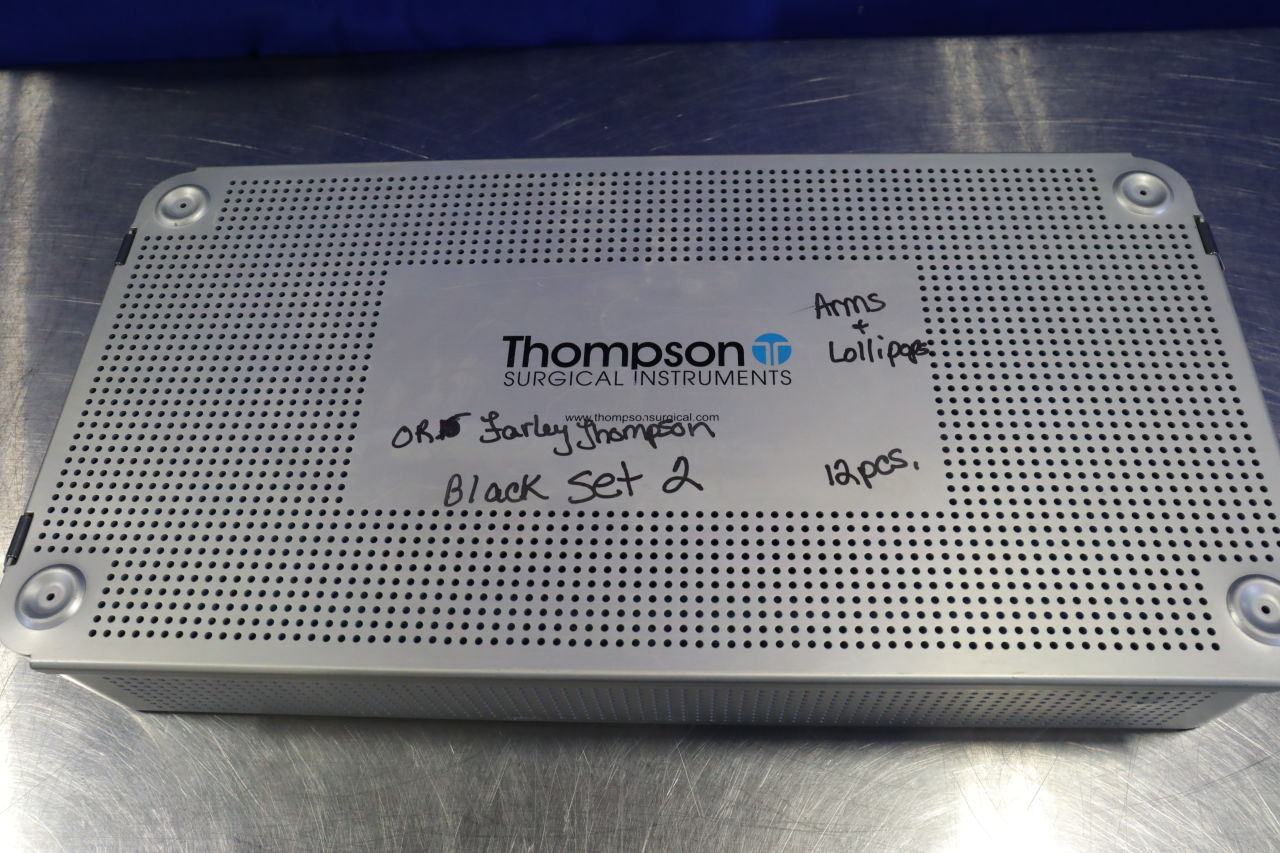 THOMPSON SURGICAL  Surgical Cases