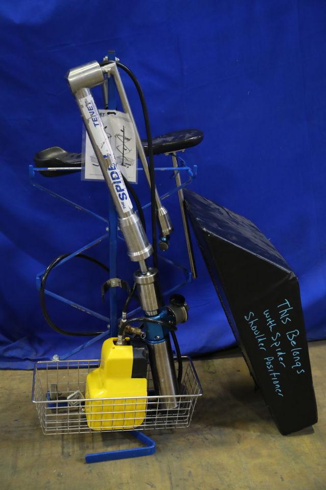 TENET MEDICAL ENGINEERING  Spider Shoulder Positioner
