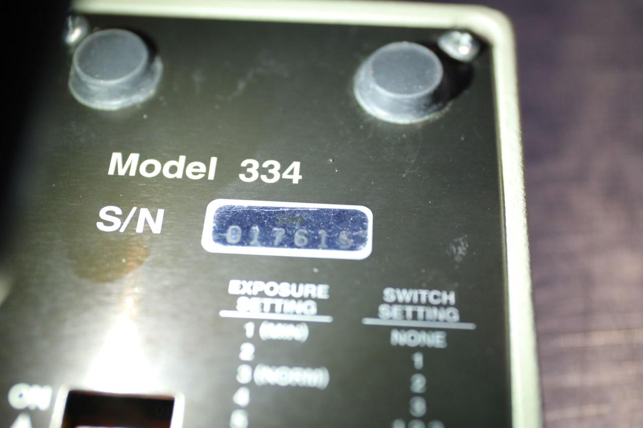 X-RITE 334 Sensitometer