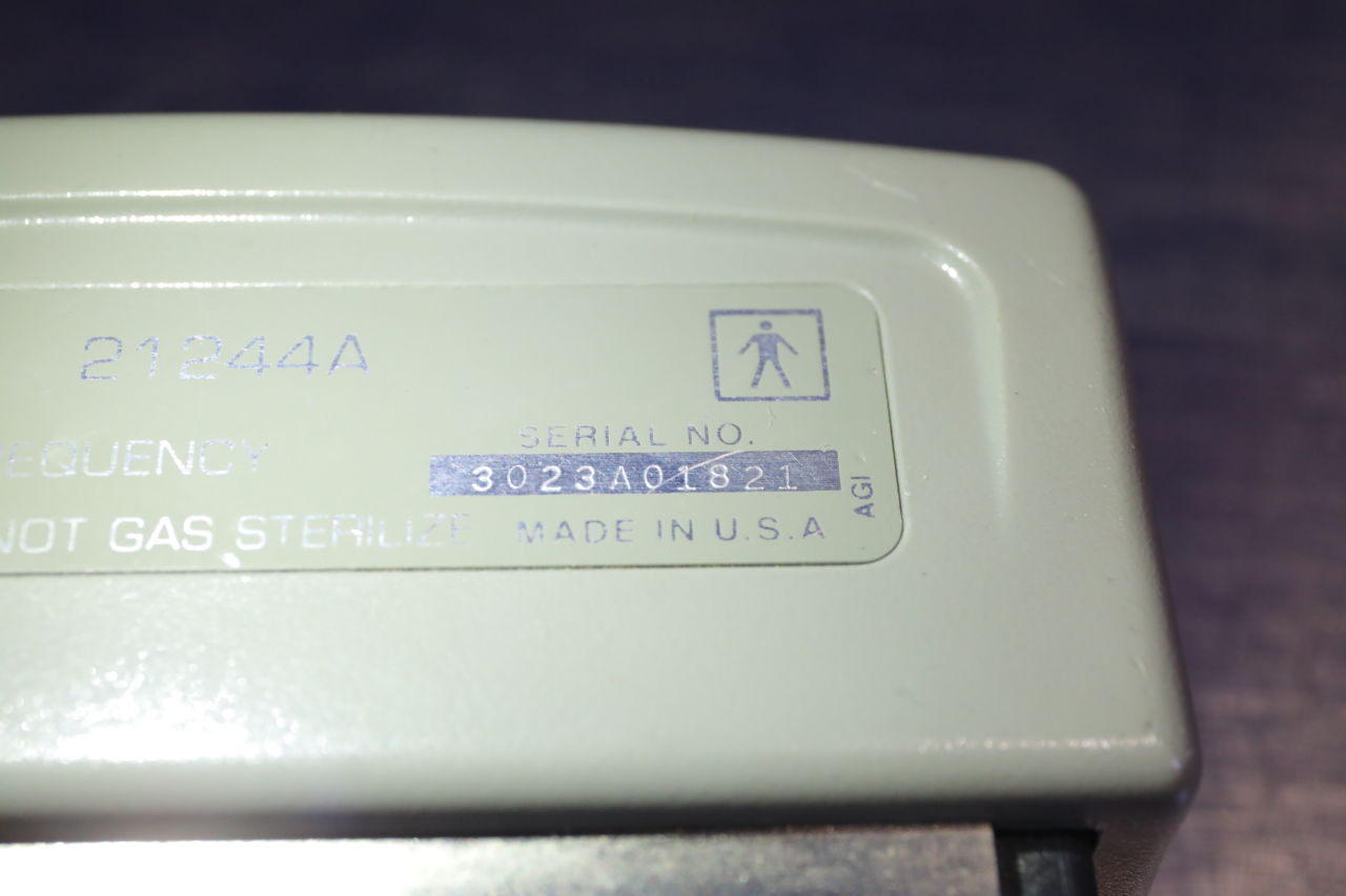 HP 21244A Ultrasound Transducer