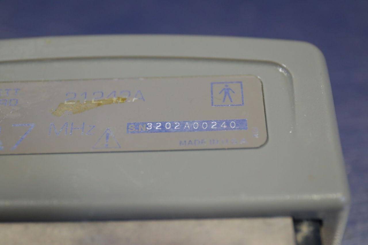HP 21242A Ultrasound Transducer