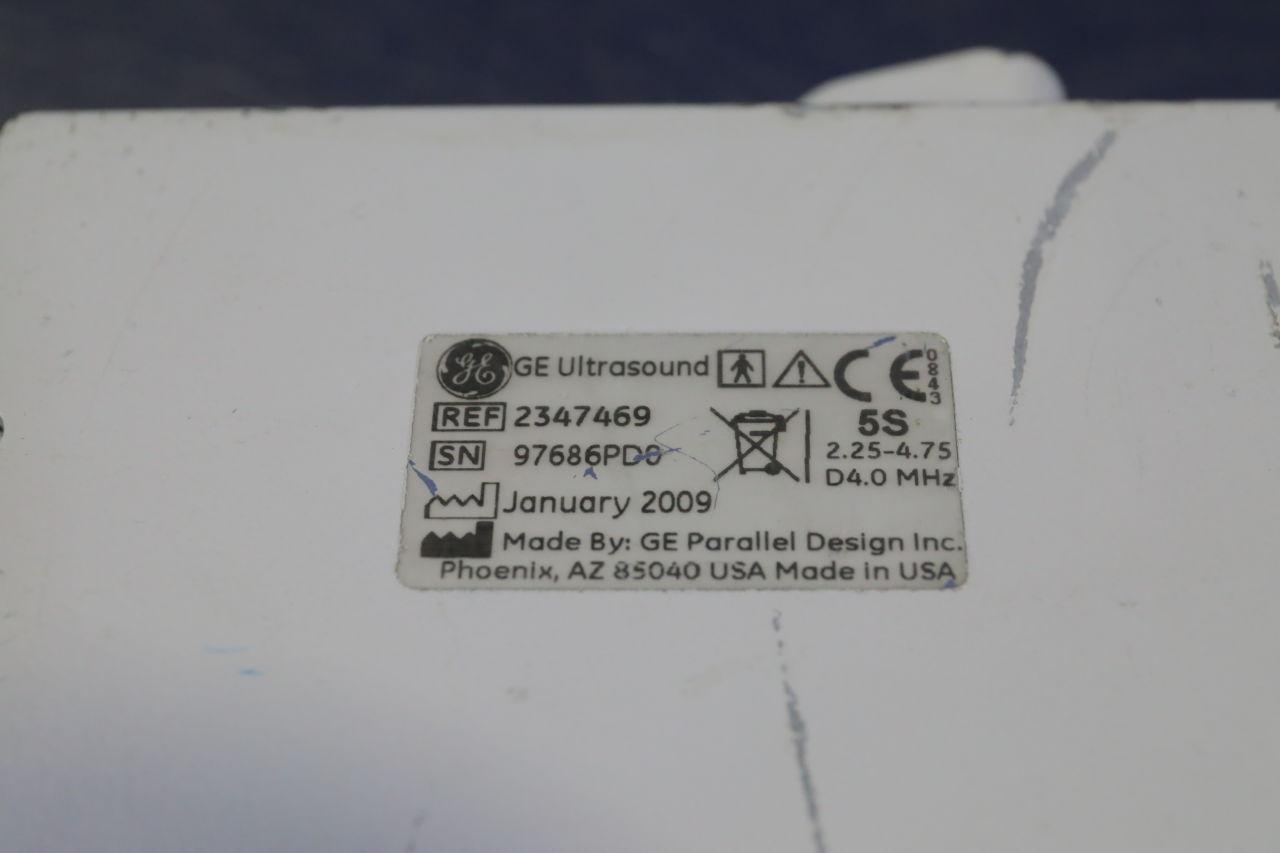 GE 5S Ultrasound Transducer
