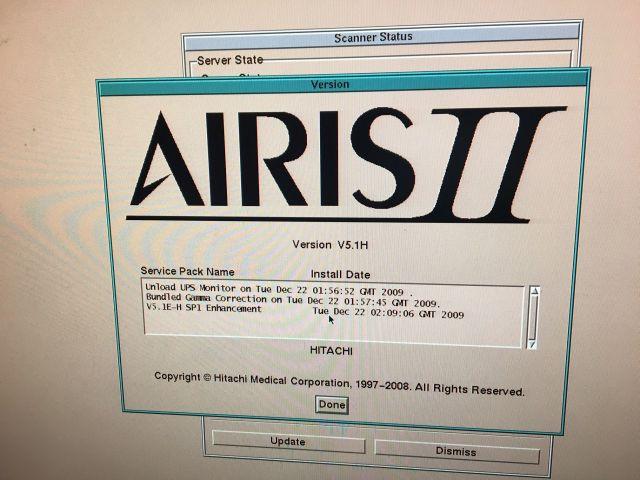 HITACHI Airis II MRI Scanner