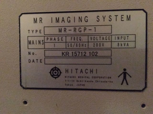 HITACHI Airis II MRI Scanner