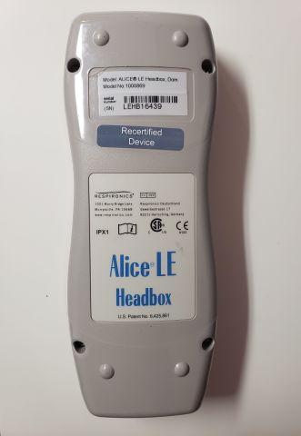 PHILIPS RESPIRONICS Alice 5 LE Head Box Apnea Monitor