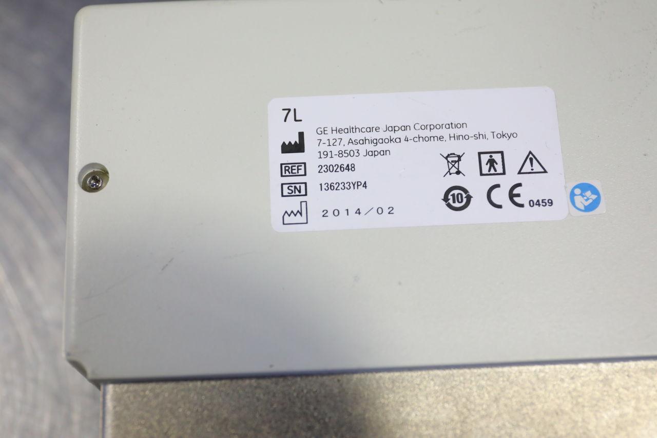 GE 7L Ultrasound Transducer
