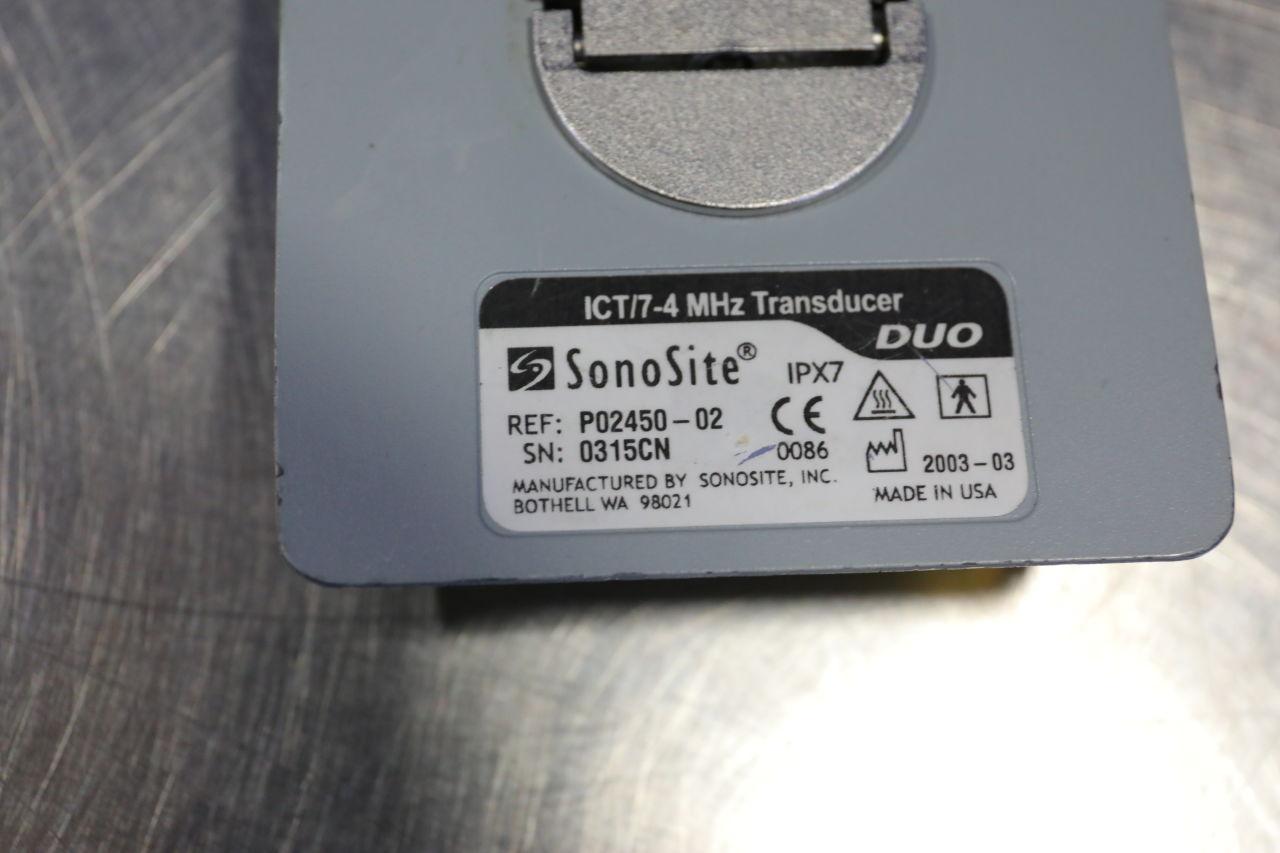 SONOSITE ICT/7-4 MHZ Ultrasound Transducer