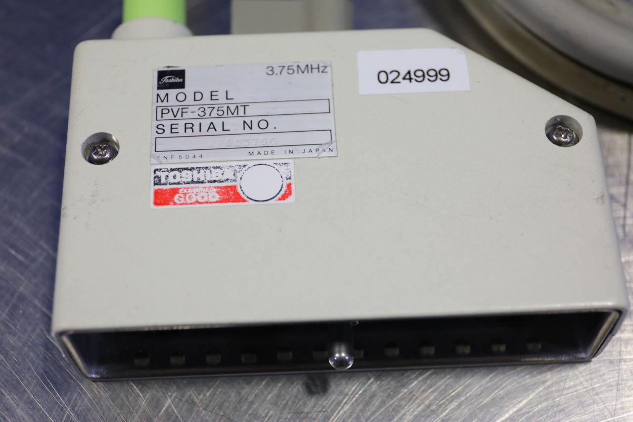 TOSHIBA PVF-375MT Ultrasound Transducer