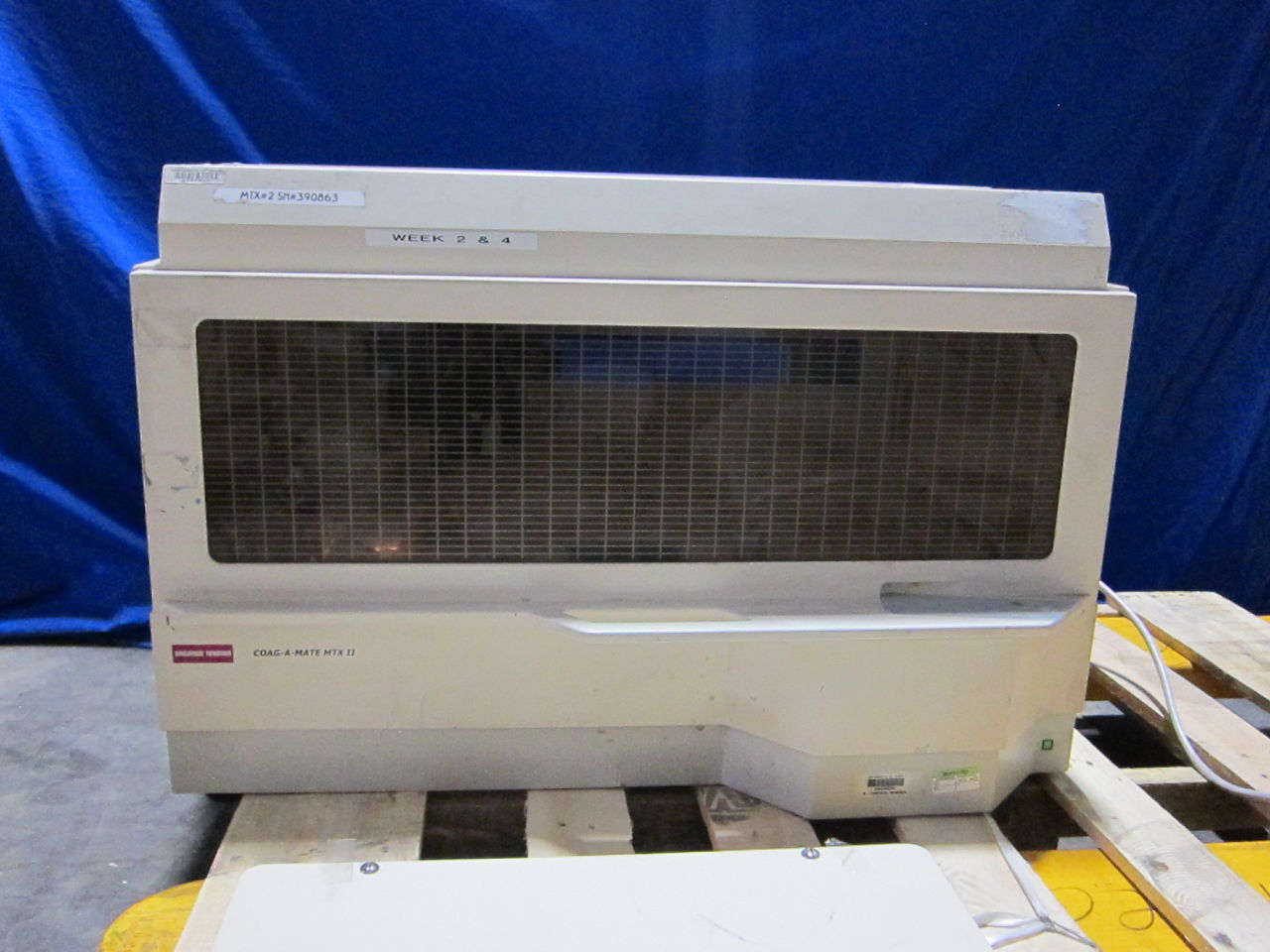 ORGANON TEKNIKA Coag-A-Mate MTX II Coagulation Analyzer