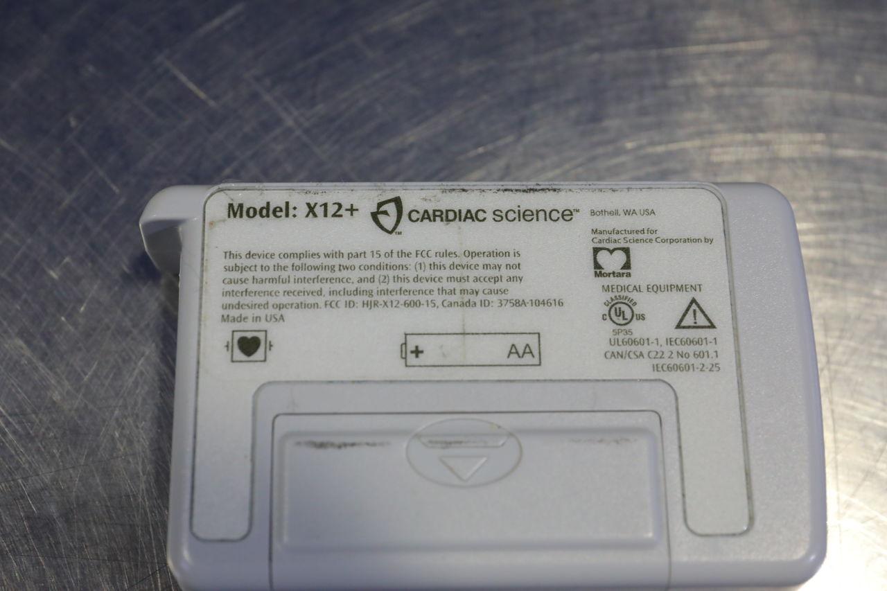 CARDIAC SCIENCE / MORTARA X12+  - Lot of 3 Telemetry