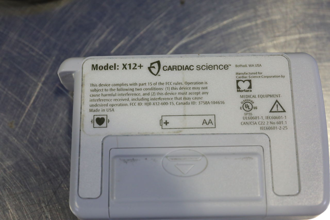 CARDIAC SCIENCE X12+  - Lot of 2 Telemetry
