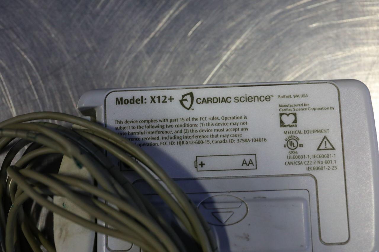 QUINTON CARDIAC SCIENCE X12+  - Lot of 3 Telemetry
