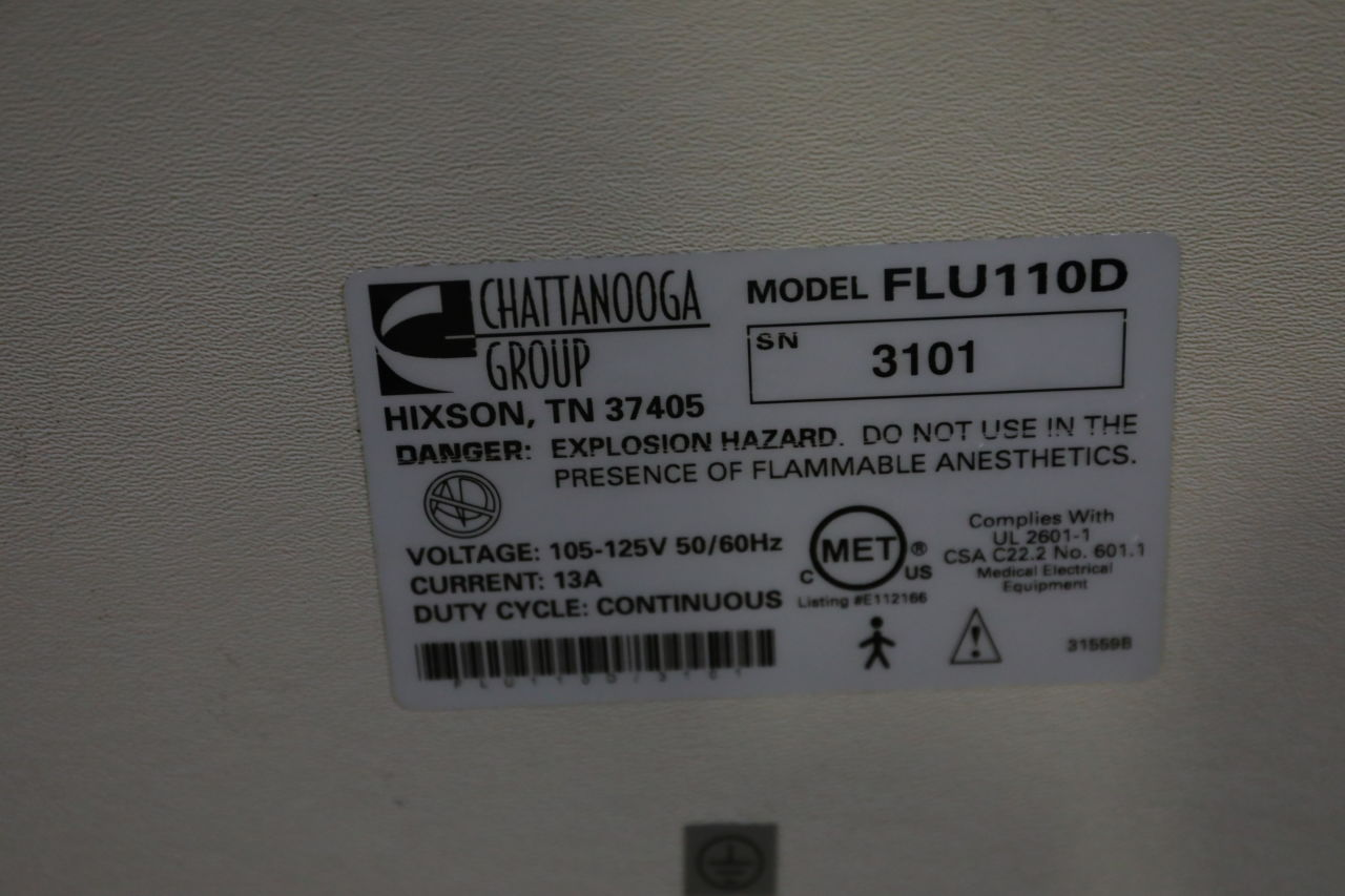 CHATTANOOGA Flu110D Physical Therapy Unit
