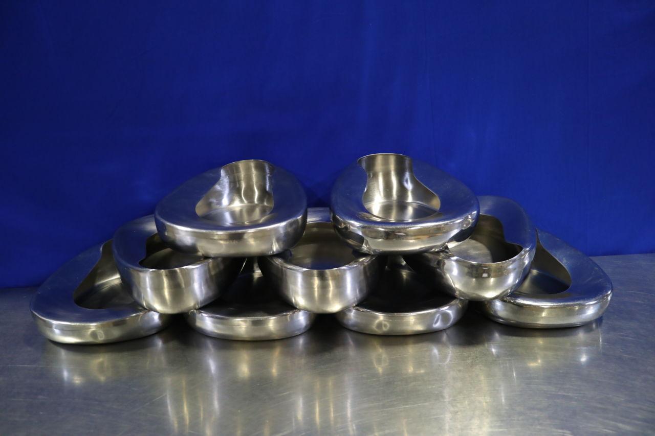 VARIOUS  Metal Bed Pans - Lot of 9