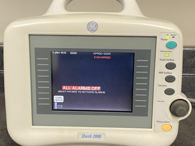 GE Dash 2000 Bedside Monitor