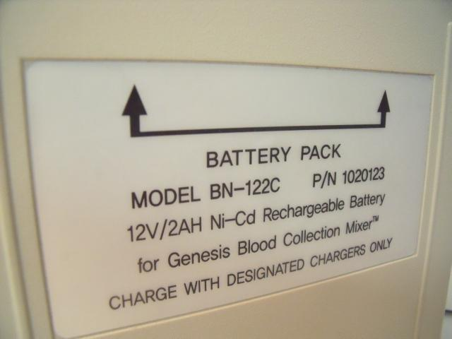 UNITED GENESIS BN-122C BATTERY PACK