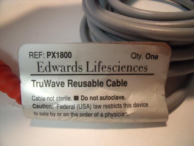EDWARDS LIFESCIENCES PX1800 Reusable Cable