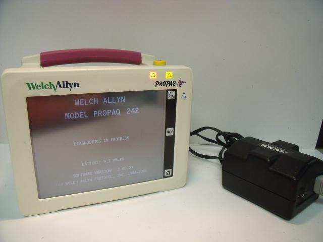 WELCH ALLYN 242 PROPAQ VITAL SIGNS  Monitor