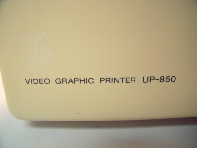 SONY UP-850 VIDEO GRAPHIC   Printer