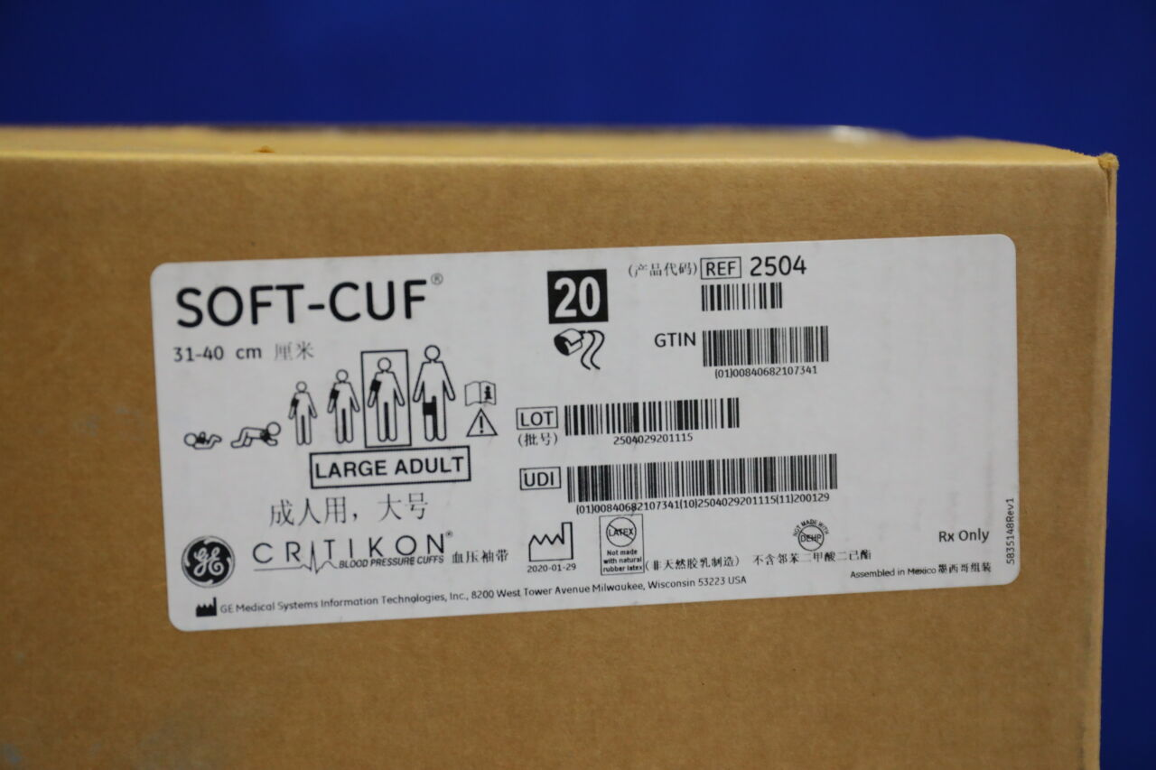 GE Soft-Cuf Adult Blood Pressure Cuffs