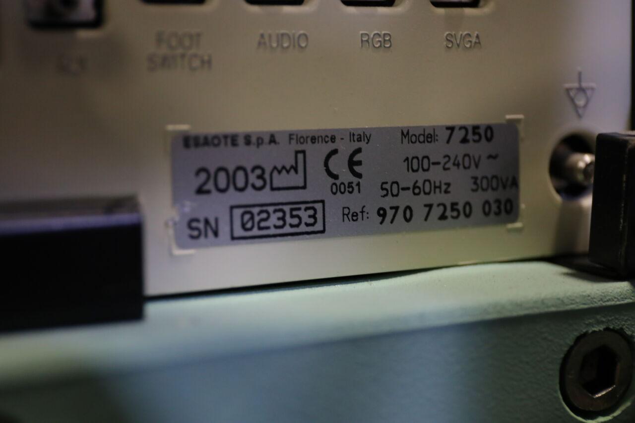 ESAOTE BIOSOUND 7250 Ultrasound Machine