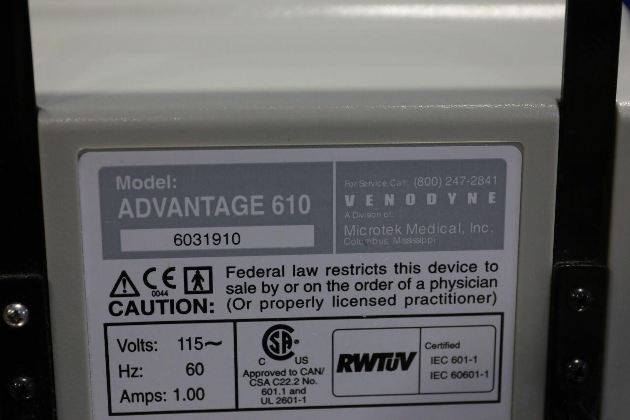 VENODYNE Advantage 610 Pump Vascular Compression