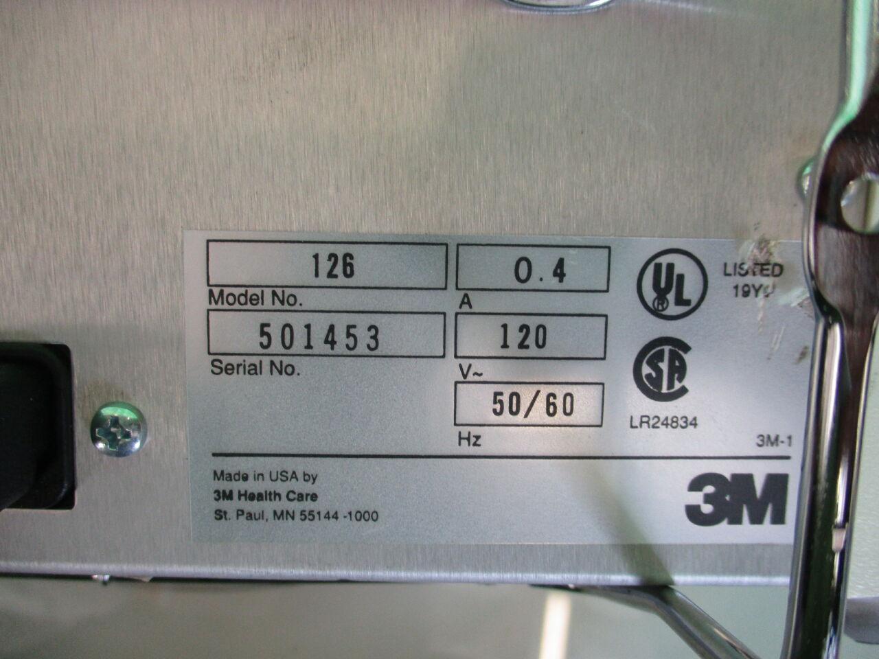 3M Attest Incubator 126 Incubator