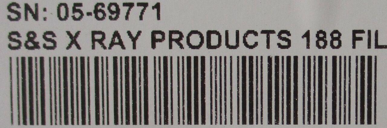 S&S X-RAY PRODUCTS 188 Film Illuminator Film Illuminator