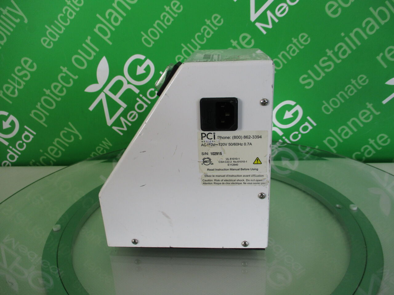PCI MEDICAL EFP250 Endoflush Endoscopic Flushing Pump