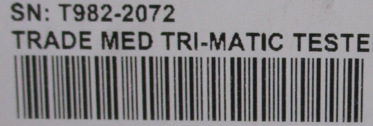 CINCINNATI SUB-ZERO Tri-Matic TFR Water Temperature Tester - Lot of 2