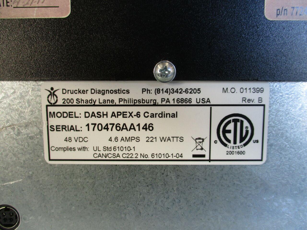 CARDINAL HEALTH Dash 6 Centrifuge
