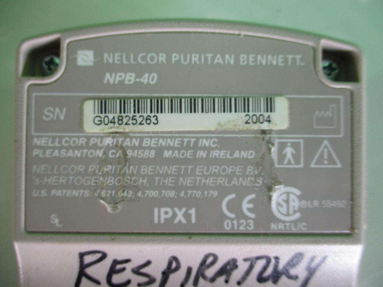 NELLCOR NPB-40 Oximeter - Pulse