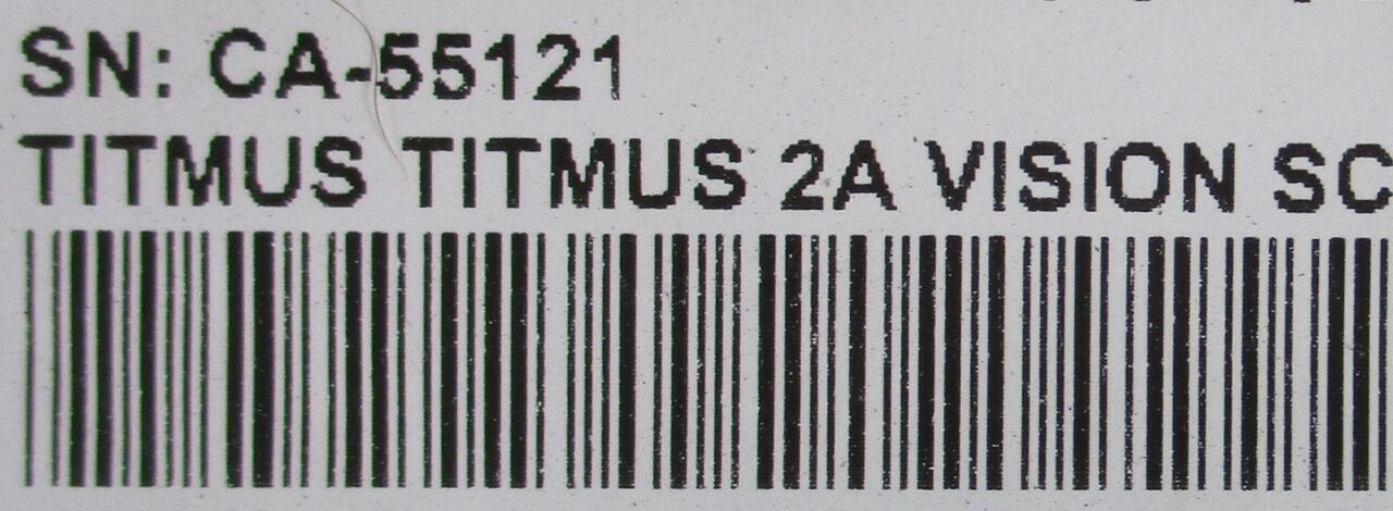TITMUS 2A    - Lot of 3 Vision Screener