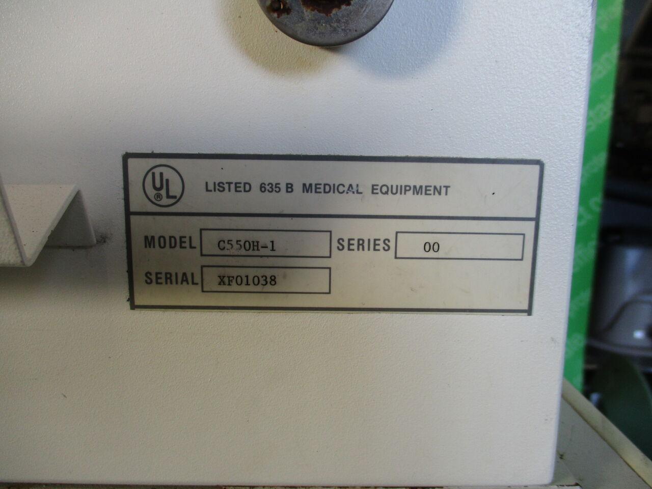 HILL ROM Air Shields Isolette C550H-1  Infant Incubator