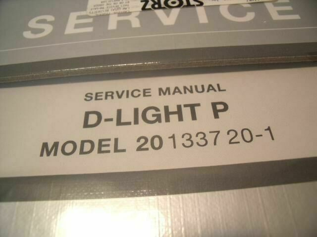 KARL STORZ 20133720-1 D-LIGHT P SERVICE MANUEL