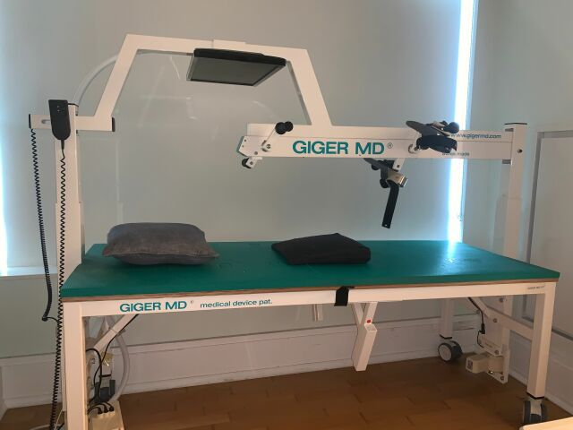GIGER MD MD KID with Biofeedback Physical Therapy Unit